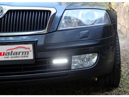 LED světla pro denní svícení Škoda Octavia 2004-08, ECE - drlSK01