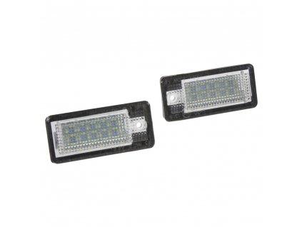 LED osvětlení SPZ do vozu Audi A3, A4, A6, A8, Q7 - RZau04