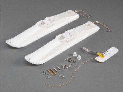 E-flite lyže pro modely třídy .10-.15 3mm osa - EFLA970