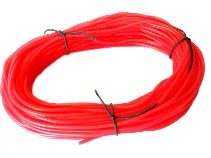 Silikonová hadička 2.4/5.5mm červená (50m) - FL-LST02R/50