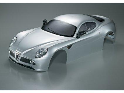Killerbody karosérie 1:7 Alfa Romeo 8C stříbrná - KB48094