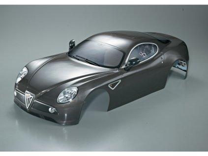 Killerbody karosérie 1:7 Alfa Romeo 8C šedá - KB48095