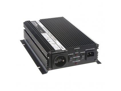 Autonabíječka 12V/10A + měnič 1200W 12/230V, UPS - 35909