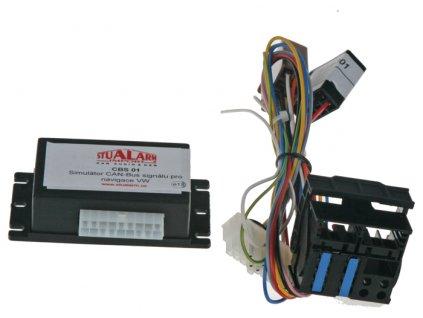 Simulátor CAN-Bus signálu pro navigace VW - cbs01