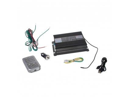 Profesionální výstražný systém s mikrofonem 200W - SN200Ws2