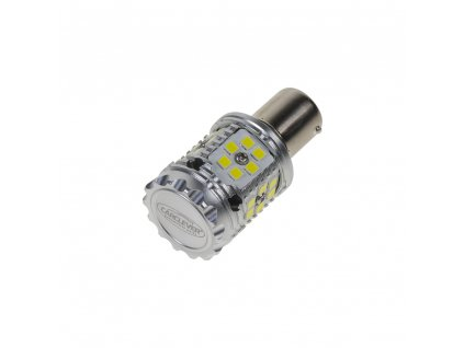 LED BA15s bílá, CAN-BUS, 12-24V, 30LED/3030SMD - 95CB102