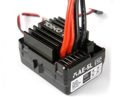 Axial regulátor AE-5L s LED portem - AXIC1480