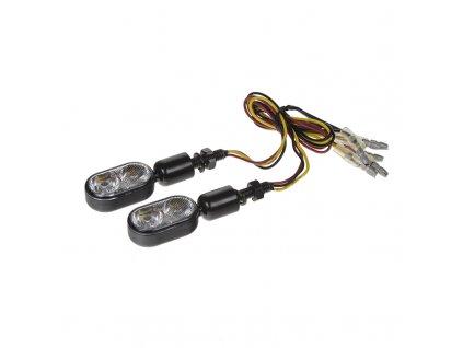 Poziční/směrová světla na motocykl 12V, homologace - sj-133E