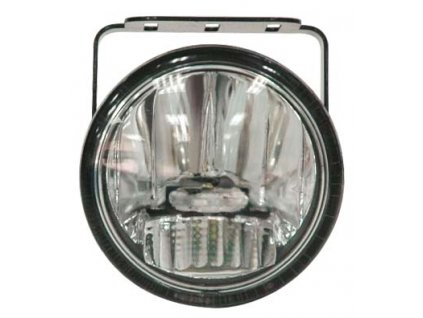 LED mlhová světla/denní svícení, kulatá světla 77mm, ECE - drlfog77