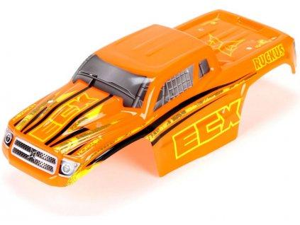 ECX Karosérie oranžová: 1:18 Ruckus - ECX210004