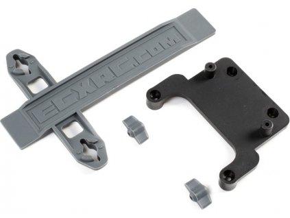 ECX držák regulátoru, páska baterie: Axe - ECX231024
