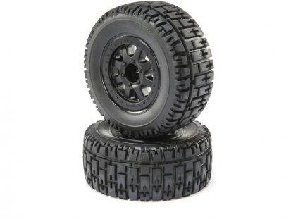 ECX Kolo s pneu P/Z (2): Torment 4WD - ECX43014