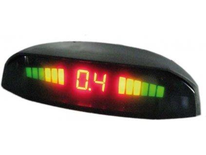 Parkovací systém bezdrátový 4 senzorový 12-24 LED displej - ps4wtruck