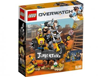 LEGO Overwatch - Junkrat a Roadhog - LEGO75977