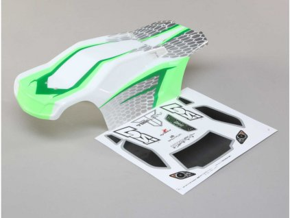 Losi karosérie bílá/zelená: Tenacity T - LOS230044