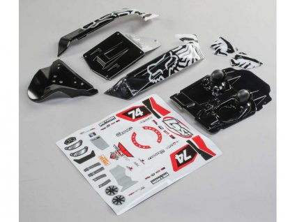 Losi karosérie FOX Racing: Tenacity DB Pro - LOS230071