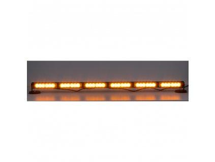 LED světelná alej, 36x 1W LED, oranžová 950mm, ECE R10 - kf755-6