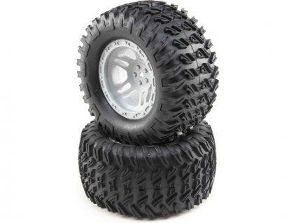 Losi kolo kompletní s pneu (2): Tenacity MT - LOS43021