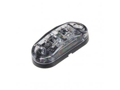 Přední obrysové světlo LED, bílý ovál - kf662E