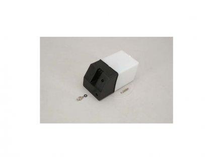 Palivová nádrž čtvercová 420ccm černá - RL-SL088C