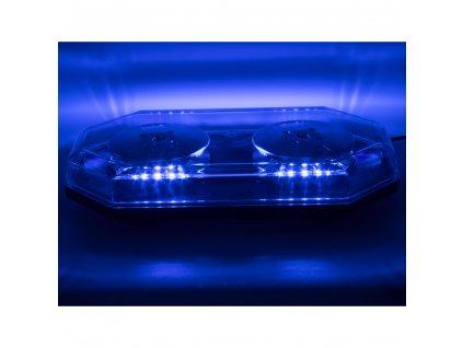 LED rampa 388mm, modrá, magnet, 12-24V, ECE R10 - sre2blu