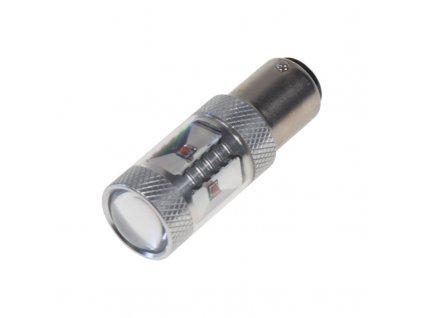 CREE LED BAY15D 12-24V, 30W (6x5W) červená - 95C-BAY15D-30Wr