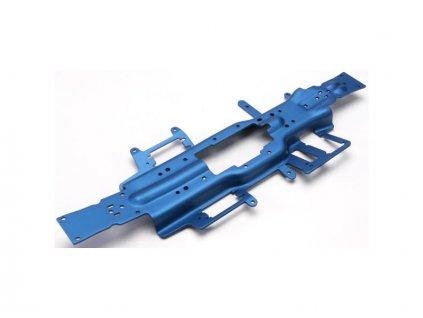 Traxxas šasi hliníkové 3mm modré: Revo 3.3 - TRA5322X