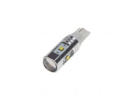 CREE LED T10 bílá, 12-24V, 25W (5x5W) - 95C-T10-25W