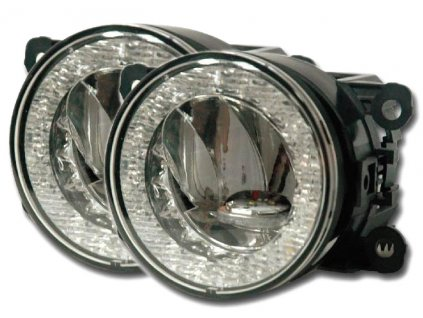 LED mlhová světla/světla denního svícení/poziční světla, ECE - drlfog90FW