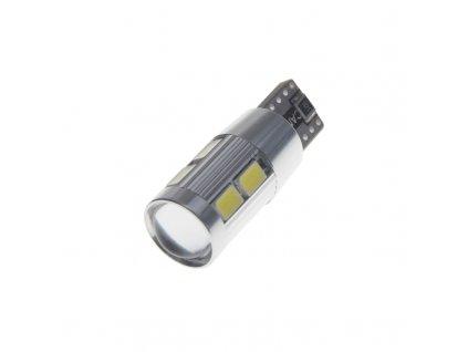 CREE LED T10 bílá, 12V, 5W + 8LED/5630SMD, (W3W, W5W) - 95C-T10-4