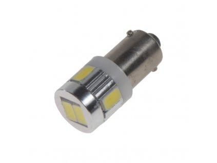 LED BA9s bílá, 12V, 6LED/5630SMD - 95171