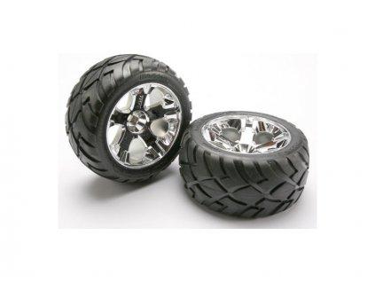 """Traxxas kolo 2.8"""" All-Star stříbrný, pneu Anaconda (2) - TRA5576R"""