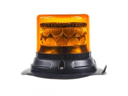 PROFI LED maják 12-24V 24x3W oranžový magnet 133x110mm, ECE R65 - 911-C24m