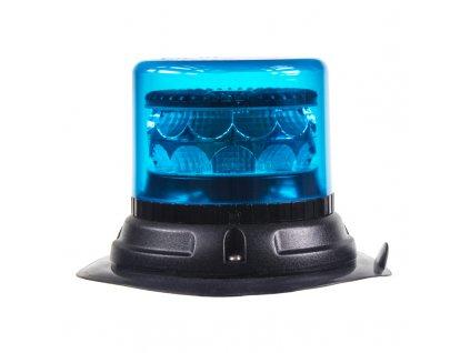 PROFI LED maják 12-24V 24x3W modrý magnet 133x86mm, ECE R65 - 911-C24mblu