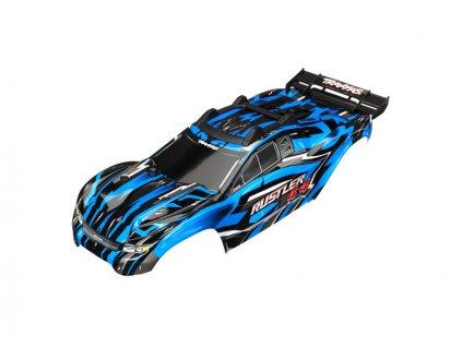 Traxxas karosérie modrá: Rustler 4x4 VXL - TRA6718X