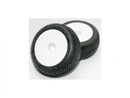 "Traxxas kolo 2.2"", disk Dished bílý, pneu Response Pro (2) - TRA7175"