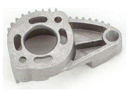 Traxxas lože motoru leštěný hliník - TRA7360