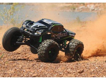 Traxxas X-Maxx 8S 1:5 4WD TQi RTR červený - TRA77086-4-REDX