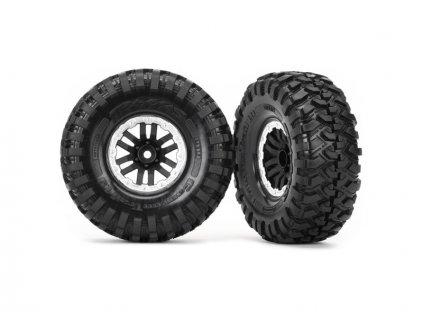 """Traxxas kolo 1.9"""", disk TRX-4 Sport černý, pneu Canyon Trail (pár) - TRA8272X"""