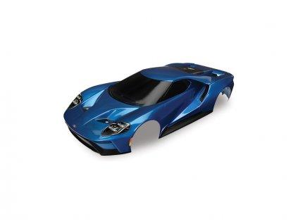 Traxxas karosérie Ford GT modrá: 4-Tec 2.0 - TRA8311A