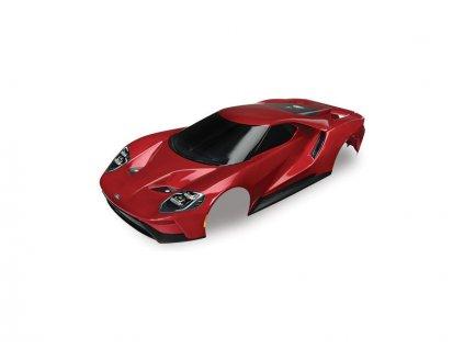 Traxxas karosérie Ford GT červená: 4-Tec 2.0 - TRA8311R