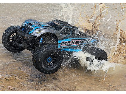 Traxxas Maxx 1:8 4WD TQi RTR modrý - TRA89076-4-BLUE