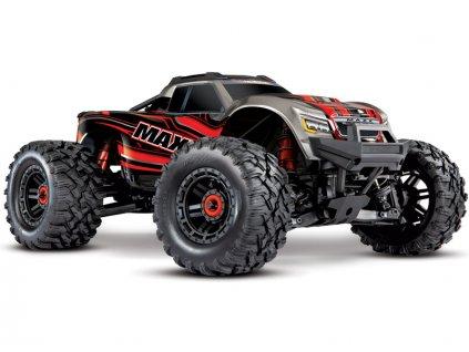Traxxas Maxx 1:8 4WD TQi RTR červený Classic - TRA89076-4-RED