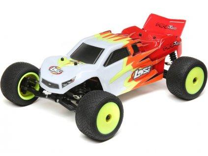 Losi Mini-T 2.0 1:18 RTR červená/bílá - LOS01015T1