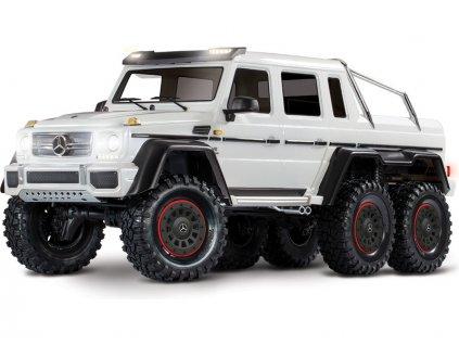 Traxxas TRX-6 Mercedes G 63 6x6 1:10 TQi RTR bílý - TRA88096-4-WHT