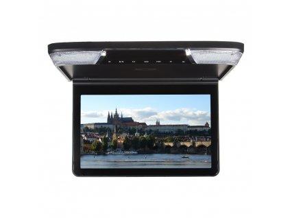 """Stropní monitor 11,6"""" černý s DVD/SD/USB/IR/FM - ic-116dbl"""