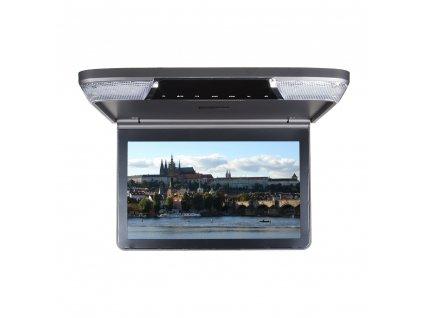 "Stropní monitor 11,6"" šedý s DVD/SD/USB/IR/FM - ic-116dgr"