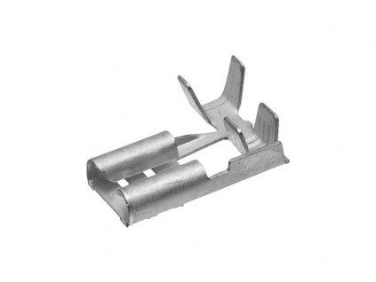 Konektor dutinka 6,3mm bocni