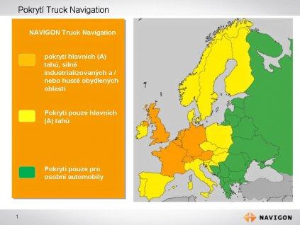 Navigační SW pro nákladní automobily - 212397