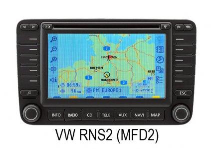 Video adapter pro park kameru VW/Skoda RNS2